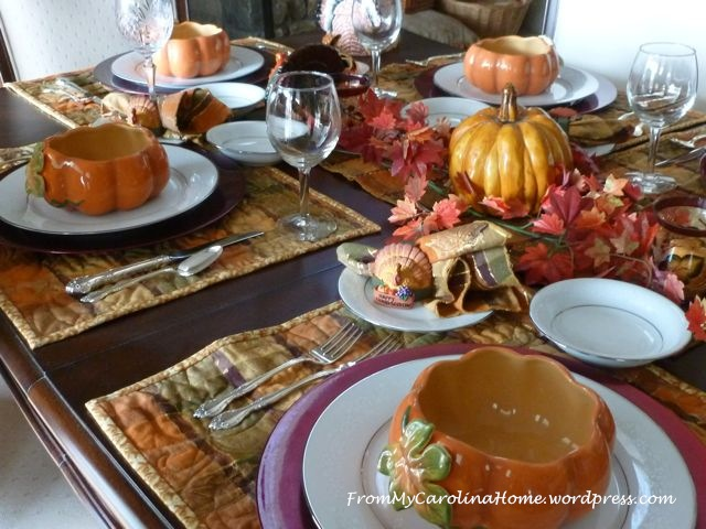 Thanksgiving Tablescape 1