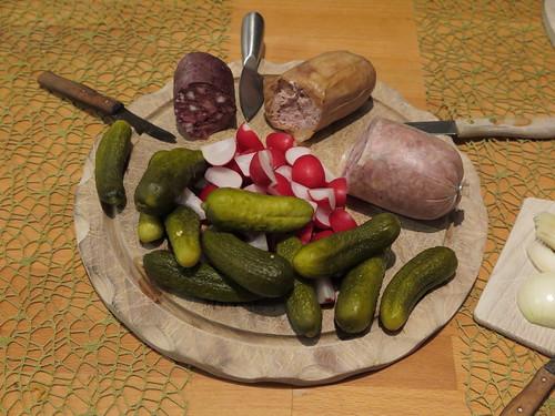 Abendbrot mit Wurst von Werner