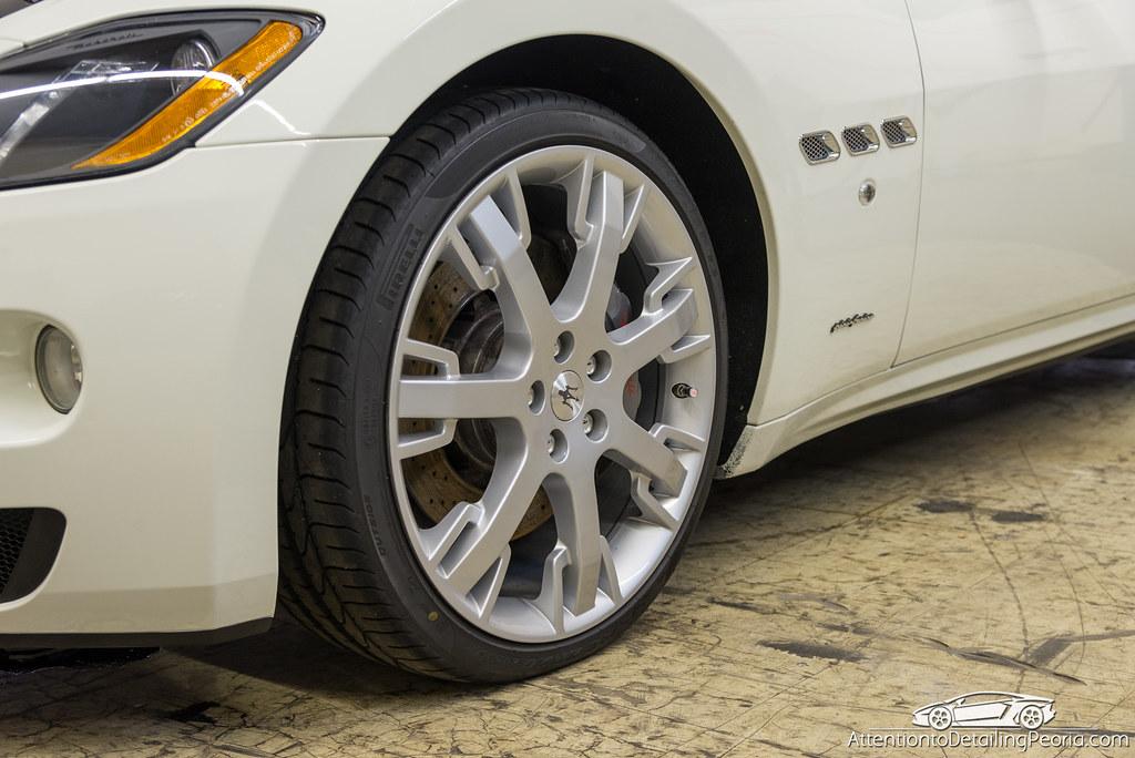 Maserati GranTurismo Wheel