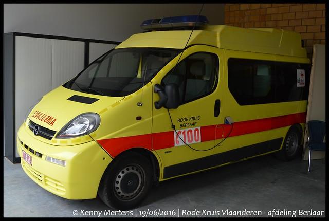 Rode Kruis Vlaanderen - afdeling Berlaar - Ambulance