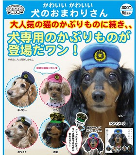 奇譚俱樂部 「狗兒警察帽」 擔任警務的工作就交給牠了啊!