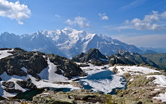 Massif des Aiguilles Rouges et Mont Blanc