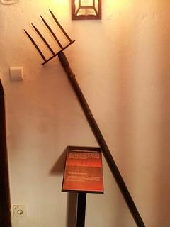 Instrumentos de tortura en el Castillo de Bran