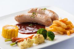 Grilled sausage set