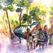 PIANO PLAZA MINA by Celia Burgos