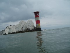 The Lighthouse at The Needles Image