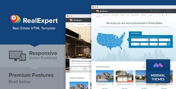 Real Expert v1.0 - Responsive Real Estate HTML Template