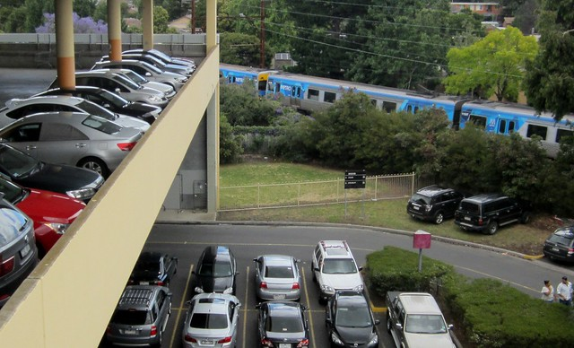 Southland: No railway station, and an overflowing carpark