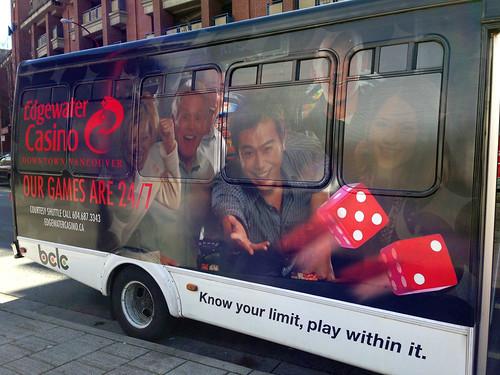 Edgewater Casino shuttle bus