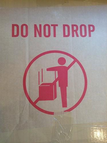 DO NOT DROP by evil robot 6