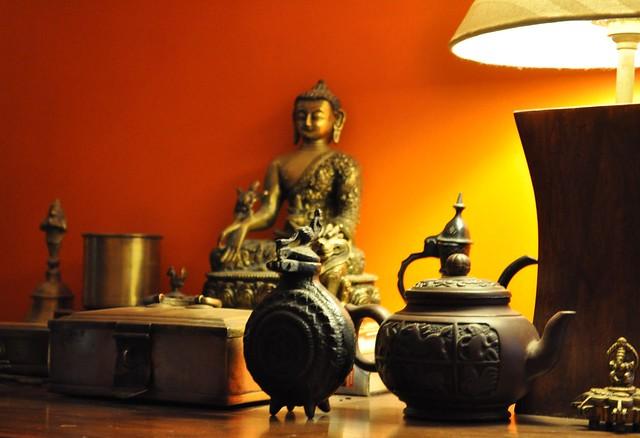 Buddha Orangewall