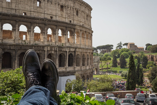 The Colosseum - Rome - Traveling Boots