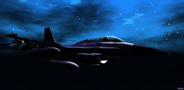F-16 Midnight Flight - Willow & Bleem