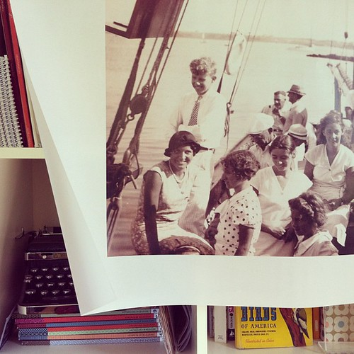 1933, a trip to Nantucket. my great grandparents & friends. big photo, new ideas in the works... #everydayinmay