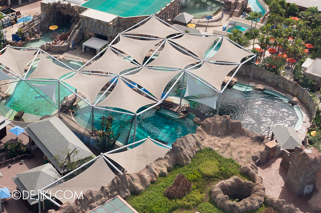 Marine Life Park Singapore - from the air May 2013 - Dolphin Island 6