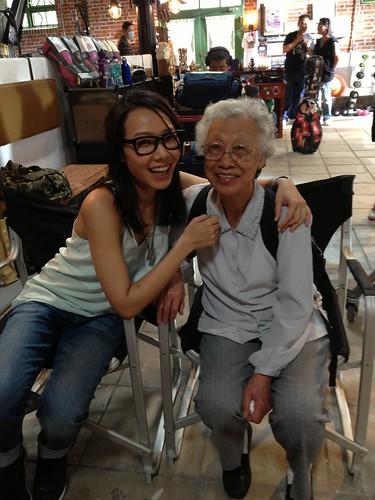 卓韻芝:外婆探班