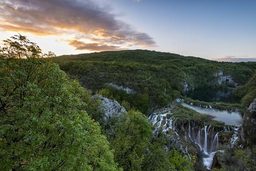 park sunrise point sightseeing croatia national seen sonnenaufgang kroatien plitvica jezera plitvička plitvicer nacionalni vidikovac plitwicer