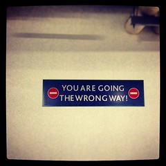 Until you go the right way. #signs #school #earlybird