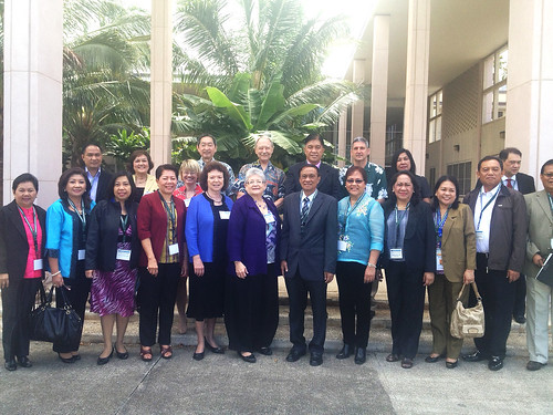 Development Academy of the Philippines delegation