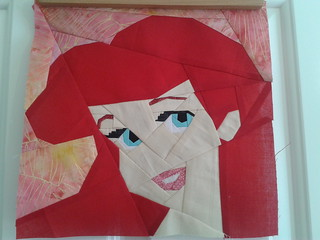 Paper Pieced Ariel (The Little Mermaid)