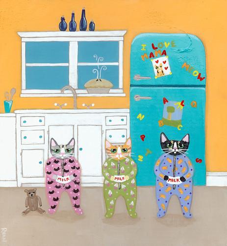 cats pajamas by Kilkennycat