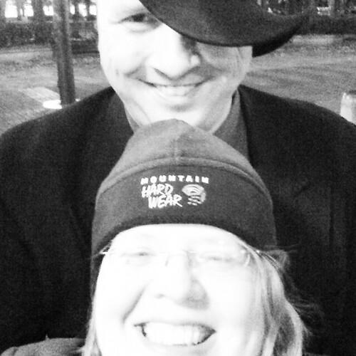 17 November 2014 - 11:15pm - Noah and me after Interstellar.