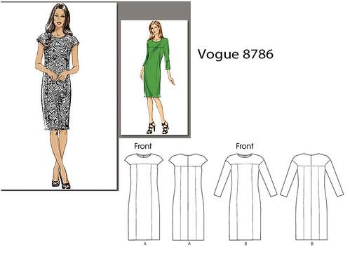 Vogue 8786