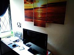 My new workspace.