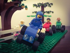 Tractor race! 😜