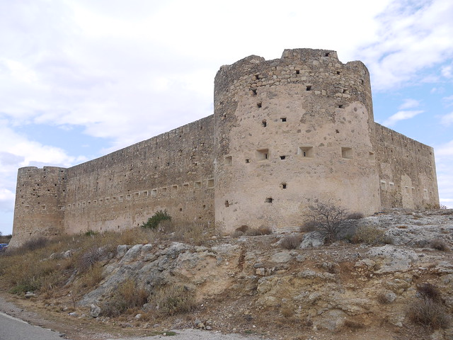 Turkish fort at Aptera Crete