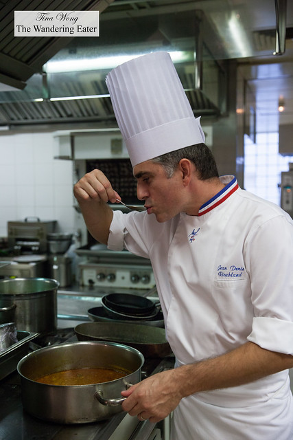 Executive Chef Jean-Denis Rieubland of Le Chantecler (2* Michelin)