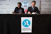 Signing MOU to support African youth