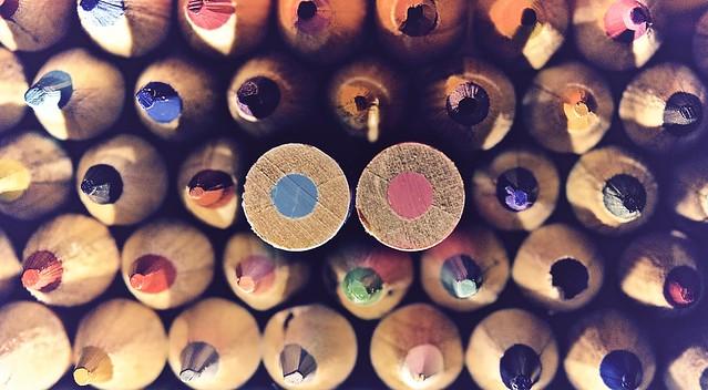 Pencils, Nikon D7000, AF-S DX VR Nikkor 18-55mm f/3.5-5.6G II