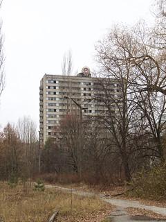 Scene at Pripyat, Ukraine