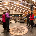 Ungimiento Pastor Pablo Martínez - Aniversario Corporación Siloé en Movimiento