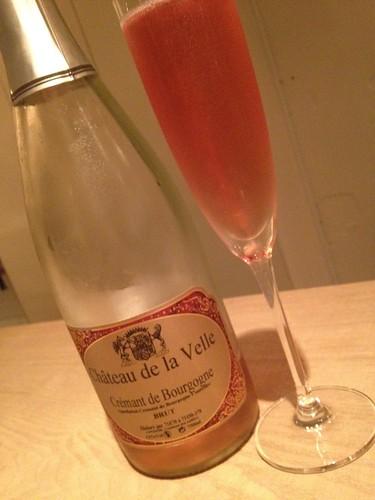 きれいな色のシャンパン@カラペティ・バトゥバ