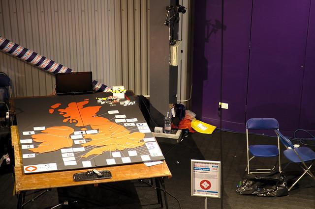 Maker Faire UK 2013 - UK Hackspace Foundation Stand