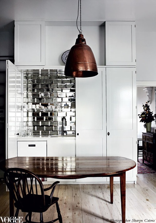 Design Trend: Mirrored Tiles