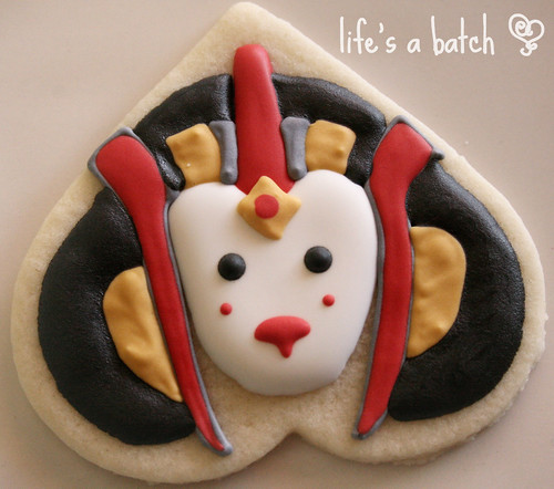 Queen Amidala head cookie.