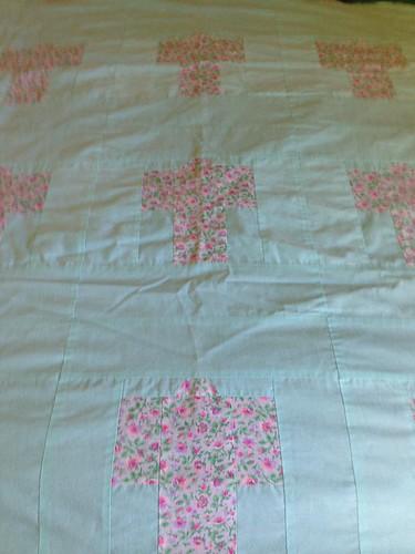 Auntie K's kimono patchwork