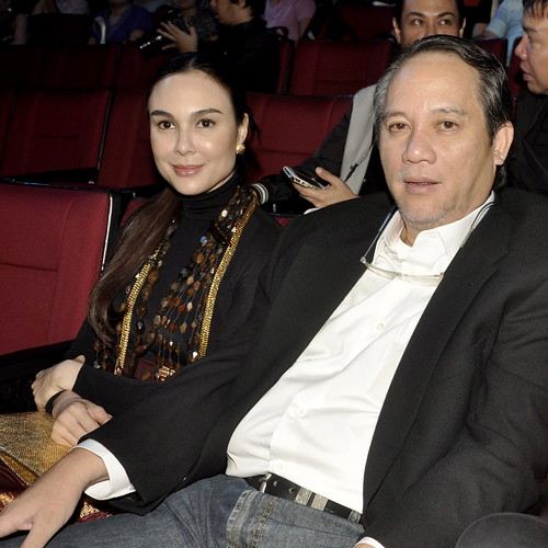 Gretchen and Tonyboy at Cinemalaya
