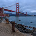 Fort Point and The Golden Gate Bridge by th.omas