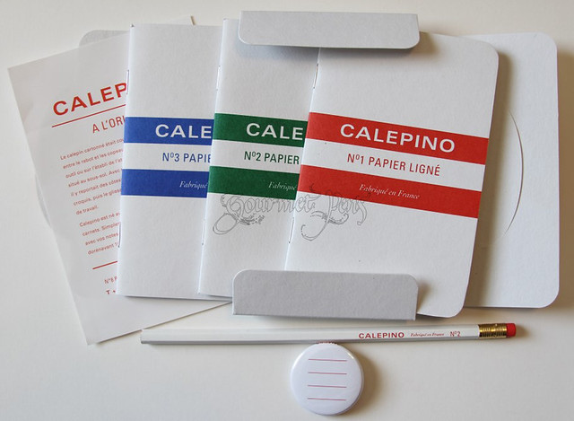 Calepino Goodies from Steve