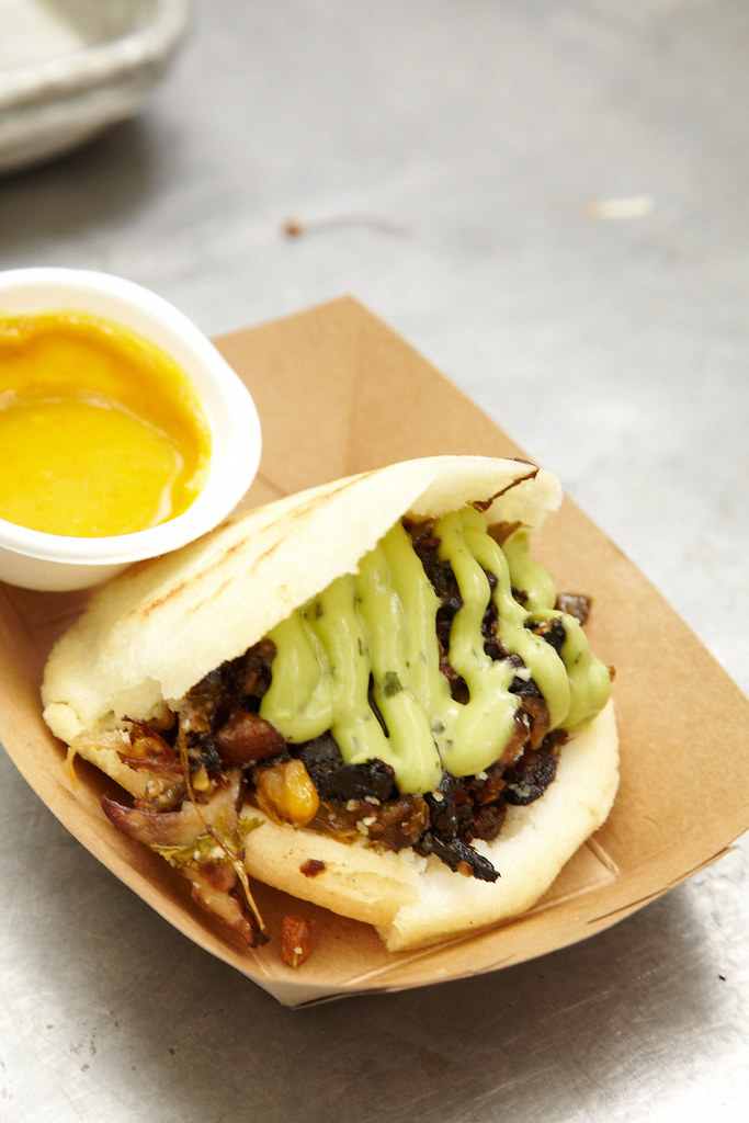 The Mamacita Arepa from Caracas