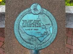 Photo of Bronze plaque number 12581
