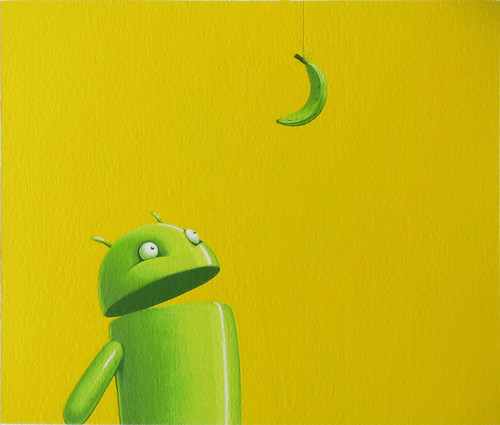 Android vs Banana