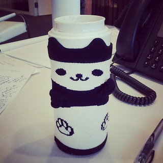 panda bottle cover fits over my muji mug perfectly :)