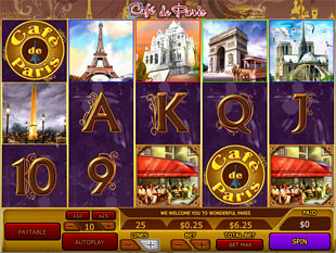 Café de Paris slot game online review