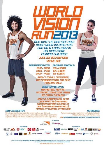 the running enthusiast world vision run 2013