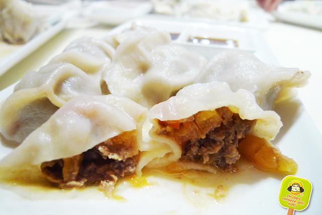 dumpling galaxy - beef and tomato dumpling